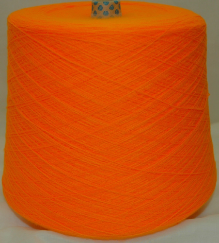 High Bulk Yarn 2/28s - Light Orange - 1600g